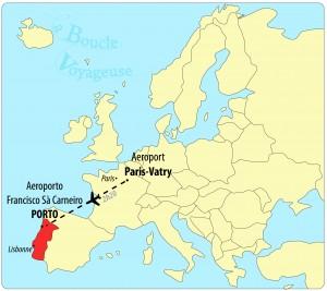 Carte Europe Porto