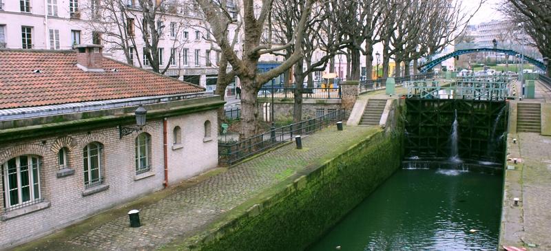 Balade parisienne proximit de la gare du nord la for Jardin villemin
