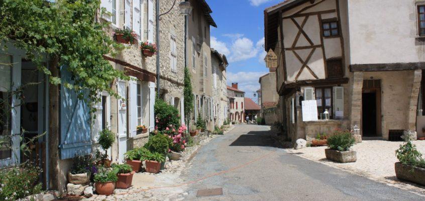 Charroux, plus beau village de France