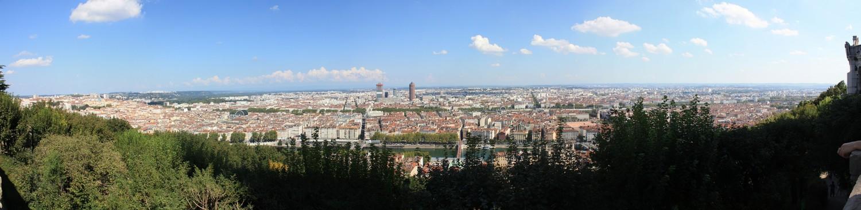 Panorama_Depuis Fourviere