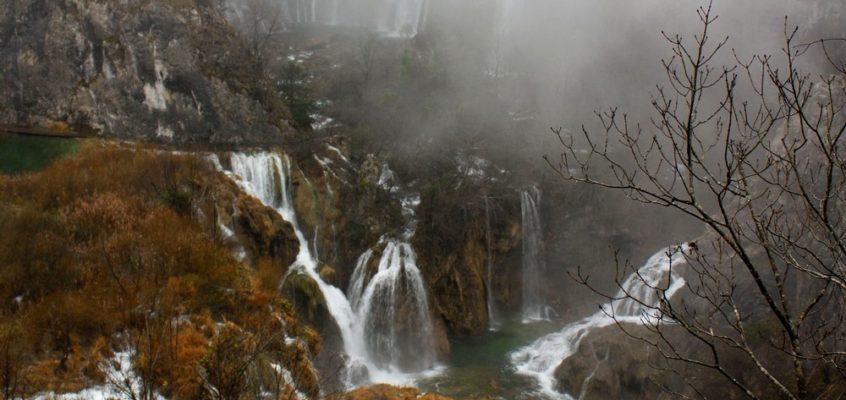 Ambiance mystique à Plitvice