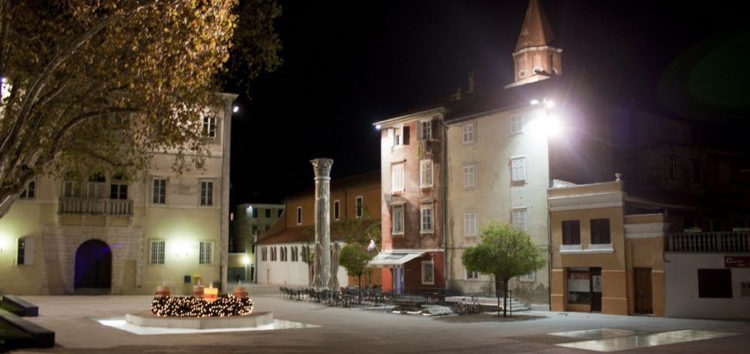 Zadar de nuit – Roadtrip en Croatie
