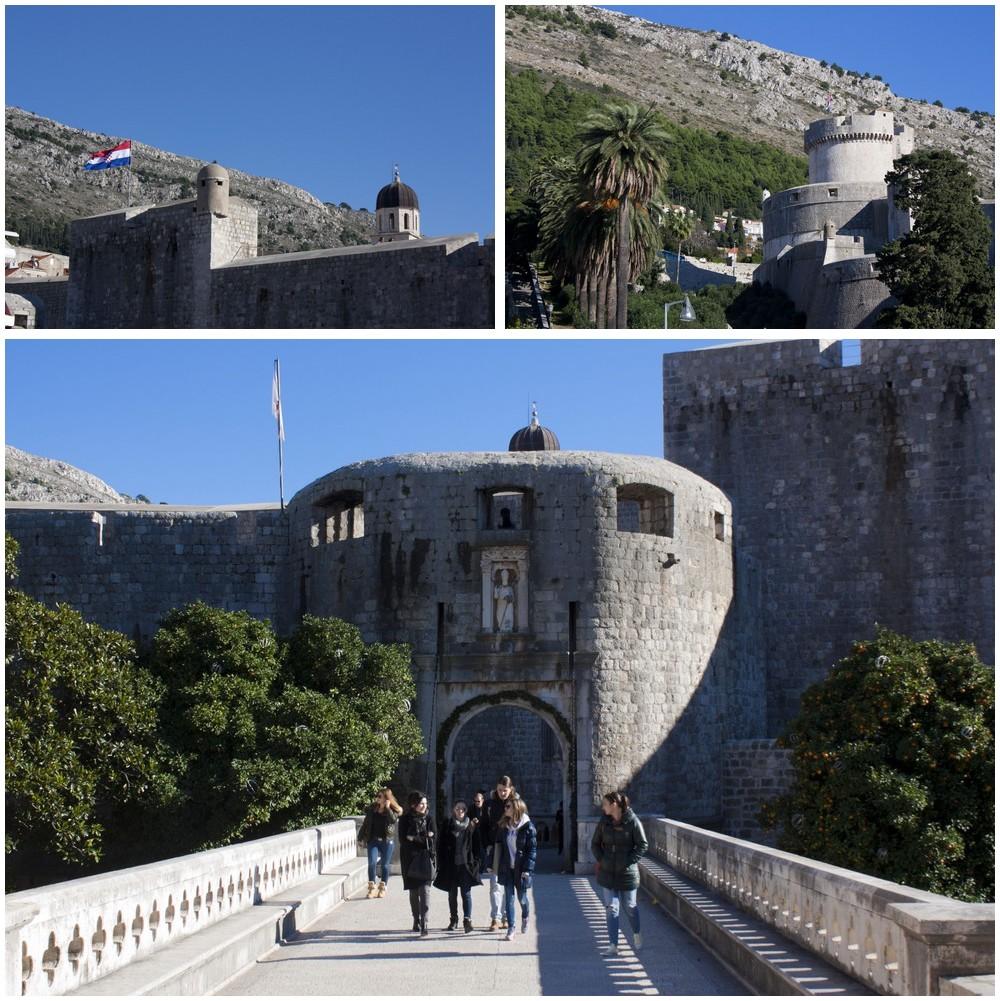 Dubrovnik-remparts