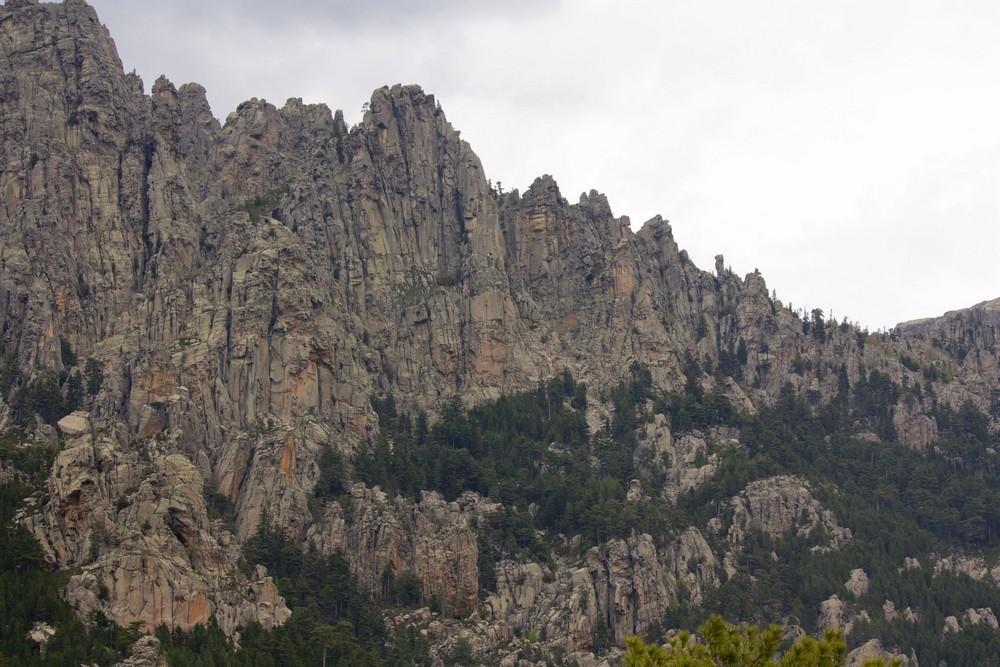 Reliefs Et Piscines Naturelles En Corse Du Sud La Boucle