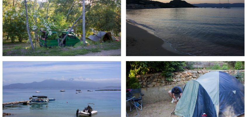 Camping itinérant en Corse du Sud