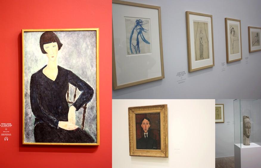 Expo Modigliani LaM Lille La Bouce Voyageuse