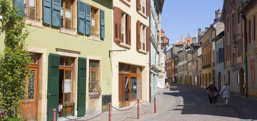 Carnet suisse – Yverdon-les-Bains