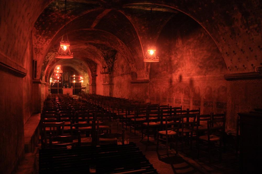 Visite crypte Chartres La Boucle Voyageuse