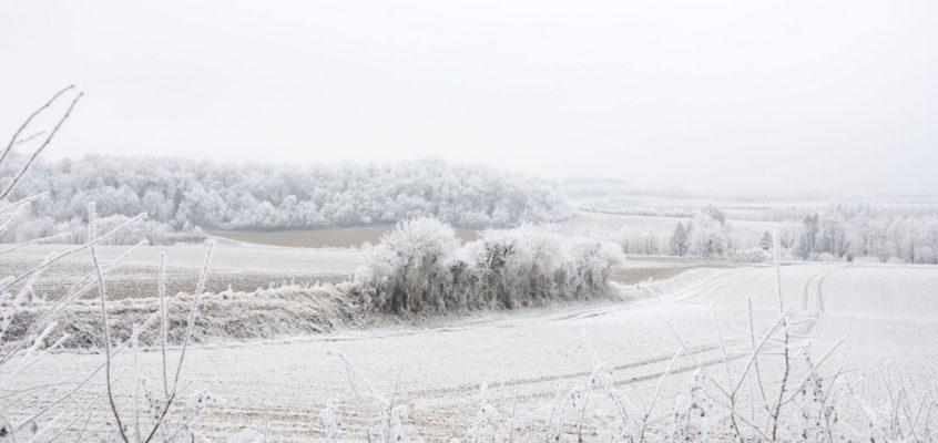 Quand l'Aisne enfile son beau manteau blanc
