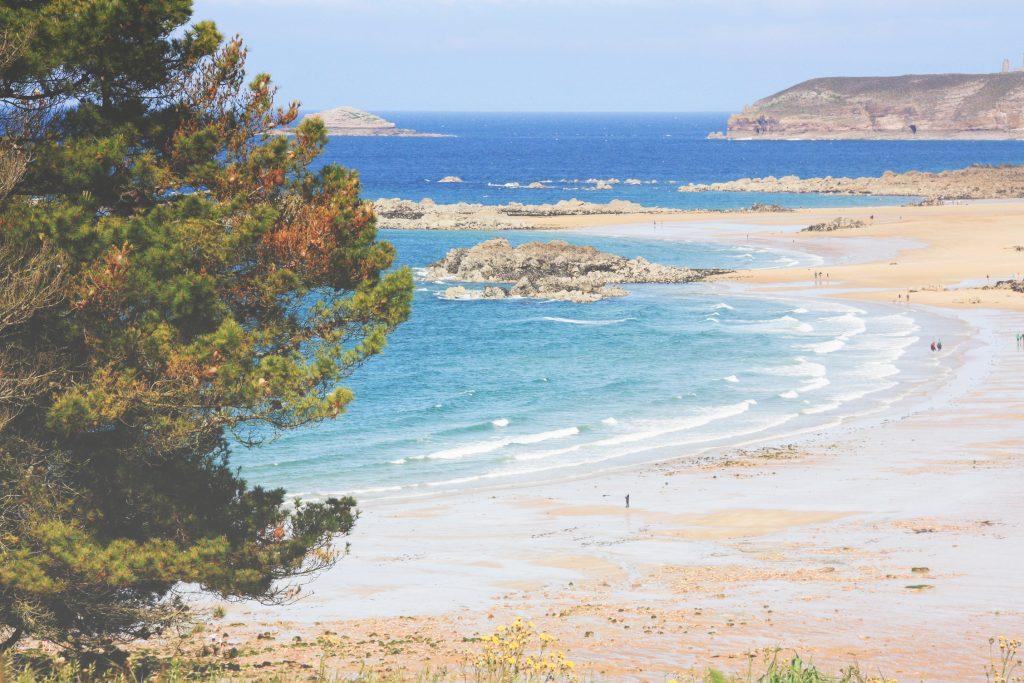 Véloroute entre le Cap Fréhel et les sables d'or