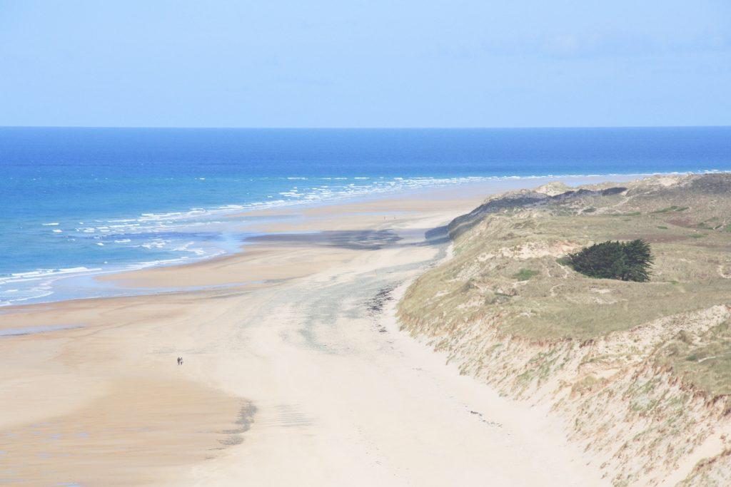 Cap Carteret vue sur Dunes d'Hatainville