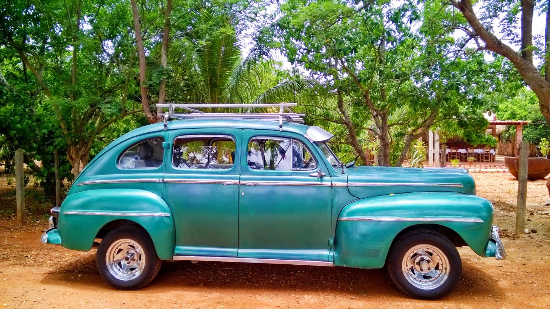Vieille Ford Cuba