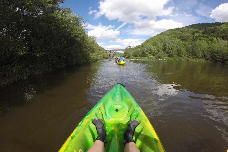 Gorges de la Loire kayak