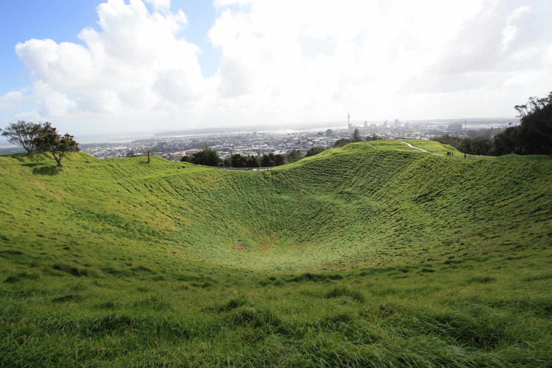 Le vert d'Auckland