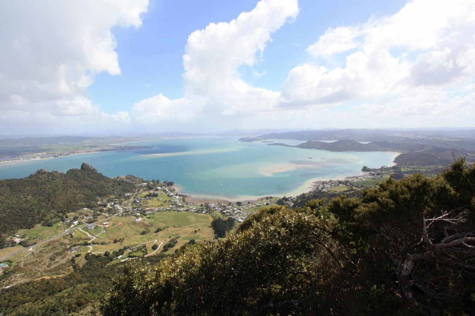 Vue du Mont Manaia Northland Nouvelle Zélande