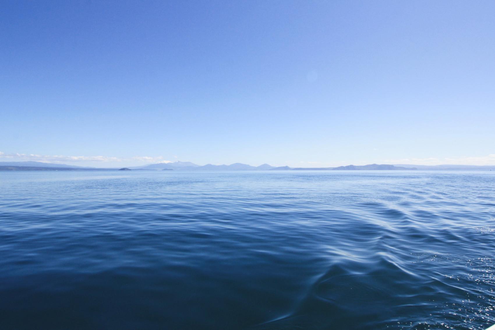 Nouvelle-Zélande : Taupo, son lac et sa vue