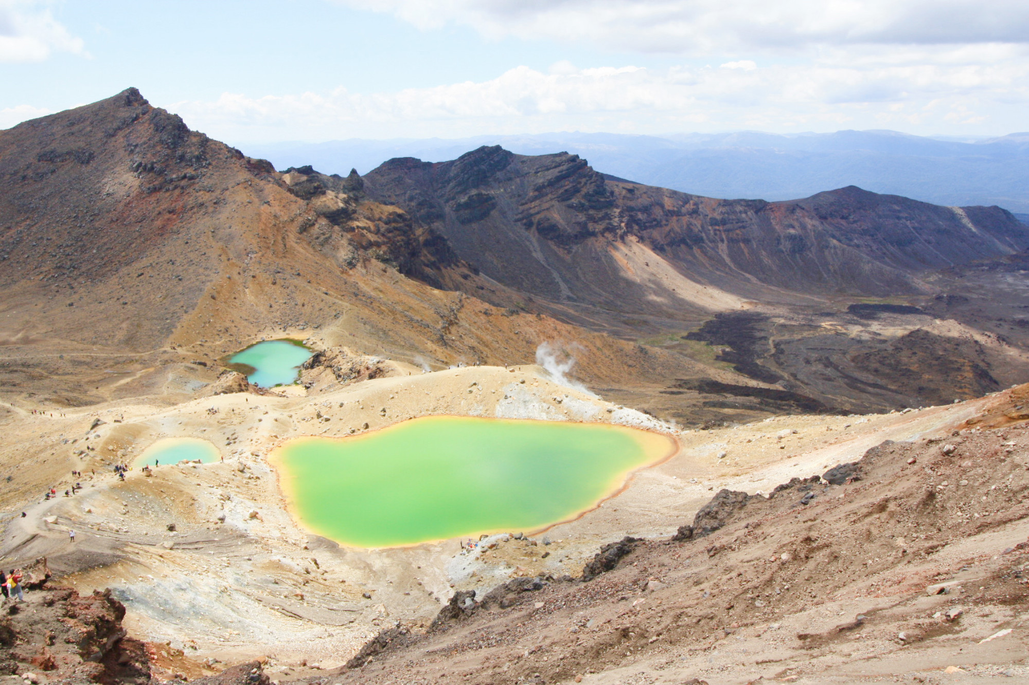 NZ : Le parc national de Tongariro