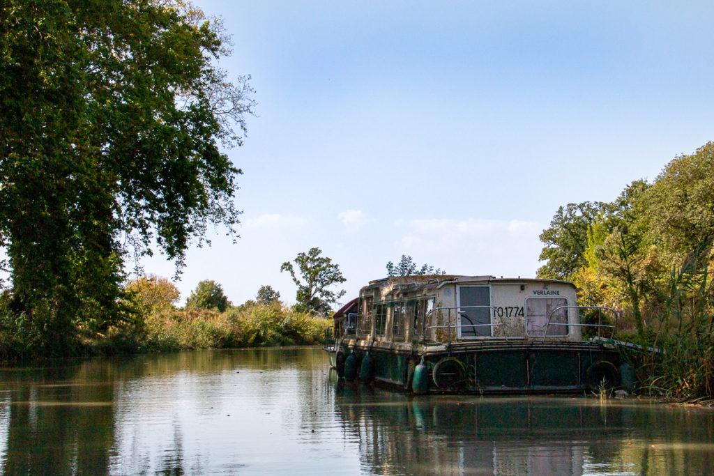 Balade bateau Canal du midi - Capestang