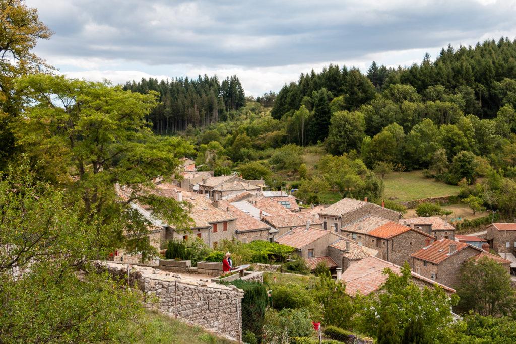 Chalencon village de caractère Ardèche Vallée de l'Eyrieux