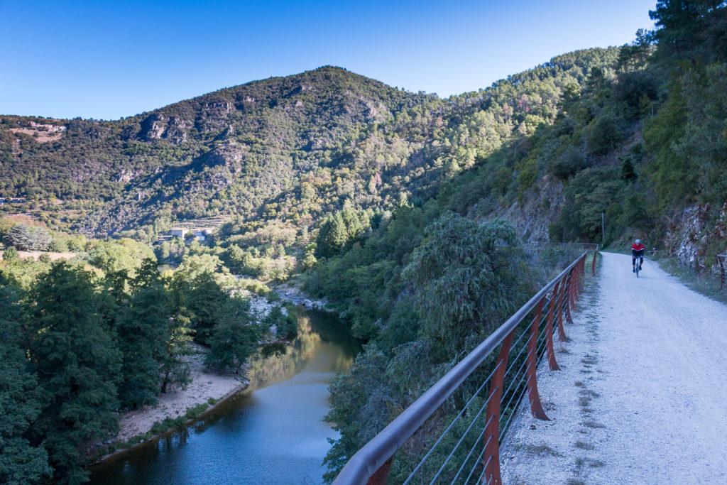 Dolce Via le long de la Vallée de l'Eyrieux - Ardèche