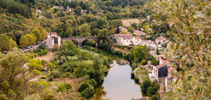 Olargues, visite d'un plus beau village de France