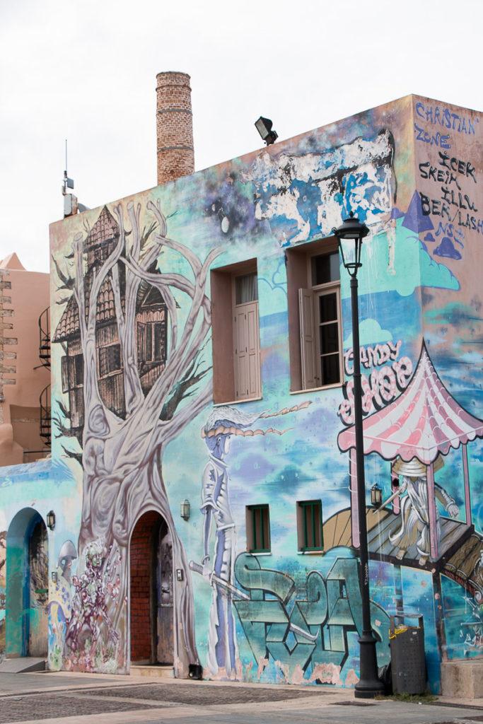 Street Art Rethymnon Crète