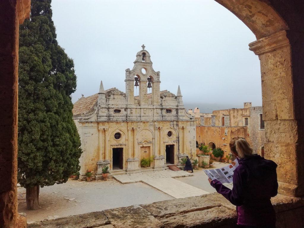 Monastère d'Arkadi Crète