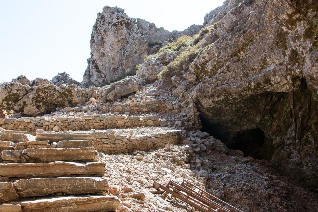Grotte %ont Ida Crète