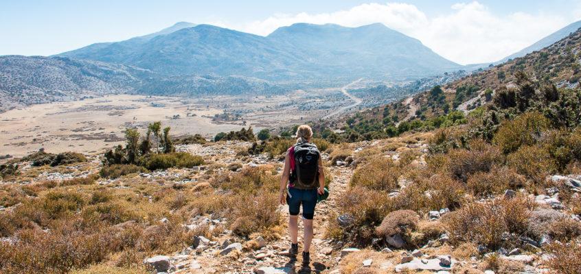Le massif du Psiloritis – Crète