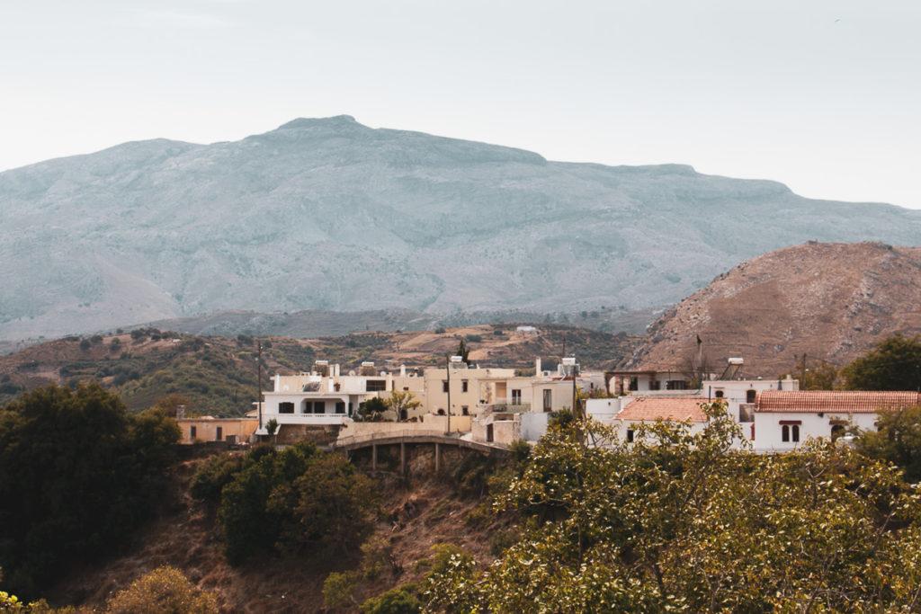 Vallée d'Amari Crète