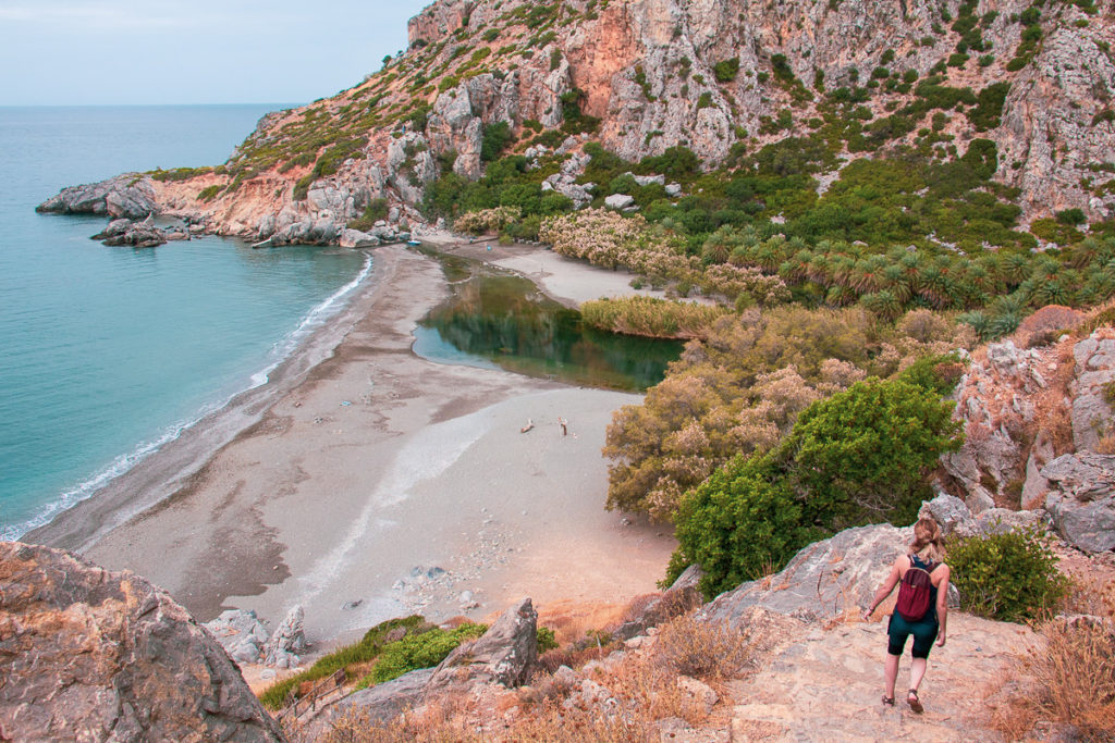 Palm Beach Preveli Crete