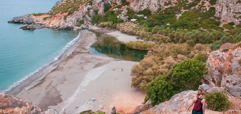 Preveli Palm Beach – Crète