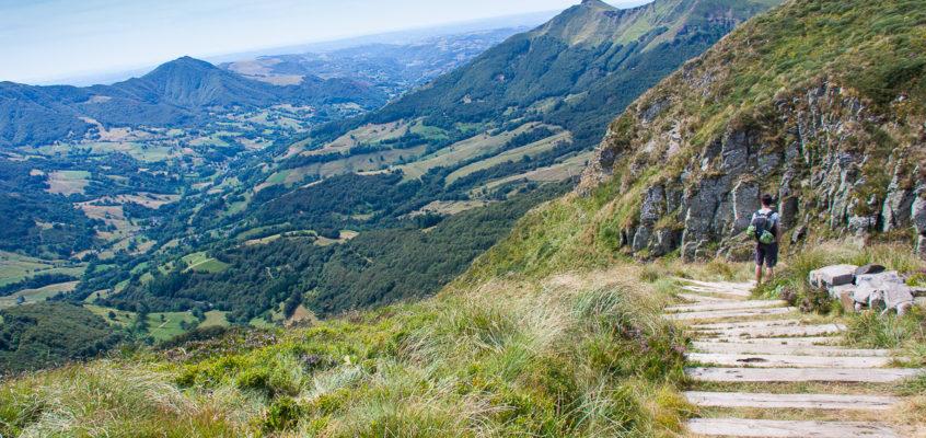GR 400, randonnée itinérante en Auvergne