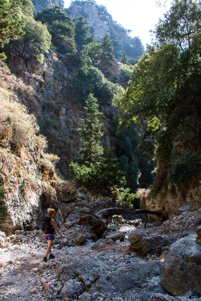 Randonnée Gorge d'Imbros