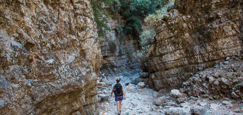 Gorge d'Imbros – Randonnée facile en Crète