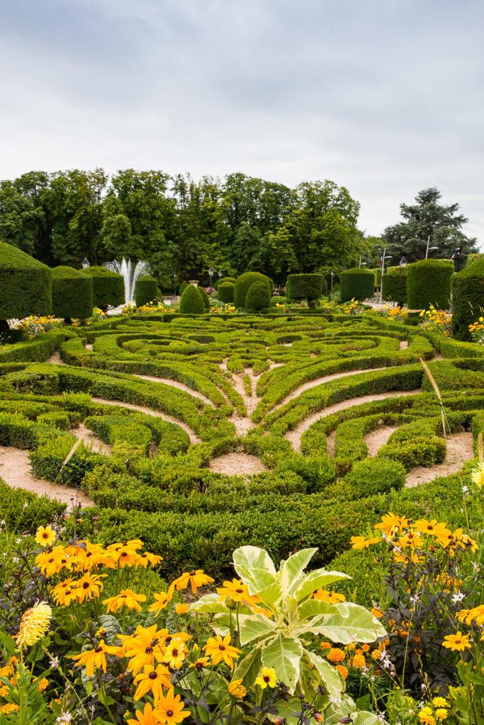 Castres jardin Le Notre