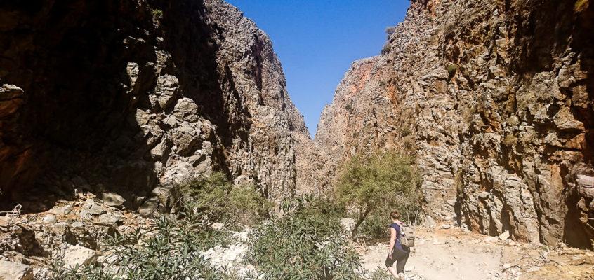Les Gorges d'Aradena