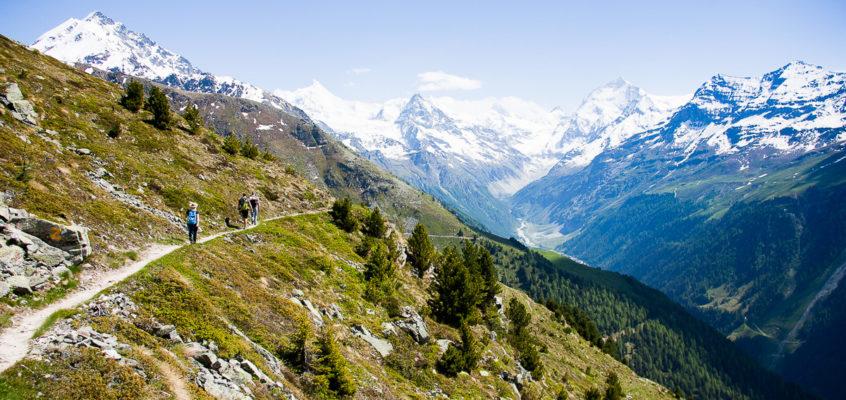 Rando en Suisse : le tour du Val d'Anniviers