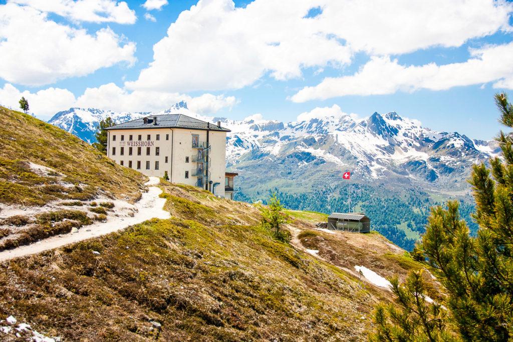 Hôtel Weisshorn Val d'Anniviers Suisse