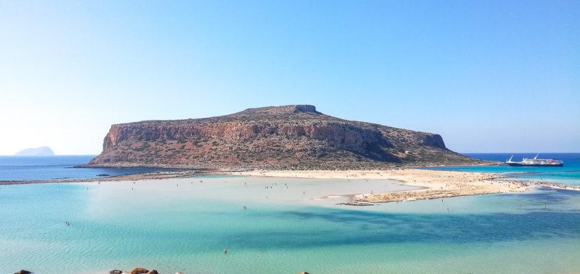 Balos et Gramvoussa : une journée croisière en Crète
