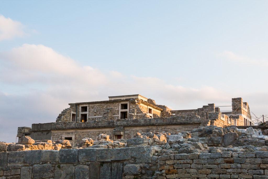 Knossos Crète