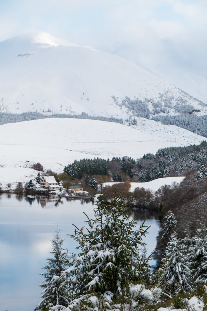 Lac de Guéry hiver