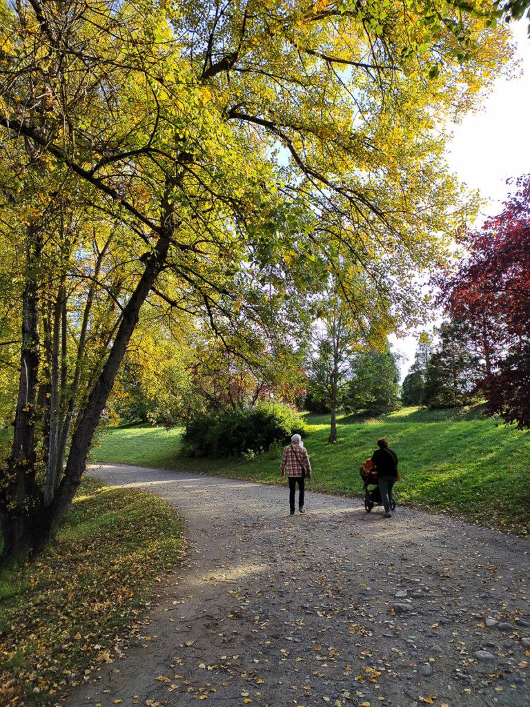 Balade en Auvergne en poussette plan d' du mas Issoire